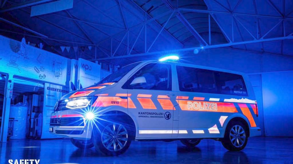 Mit Alpstein und Leuchteffekten – so sehen die Polizeiautos jetzt aus