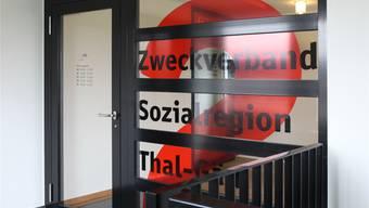 Im Fokus: Standorte der Sozialregion, hier jener in Härkingen.