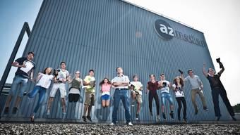 Im AZ-Mediencamp haben Jugendliche im Journalismus schnuppern können - so wie die Young Reporters. (psi)