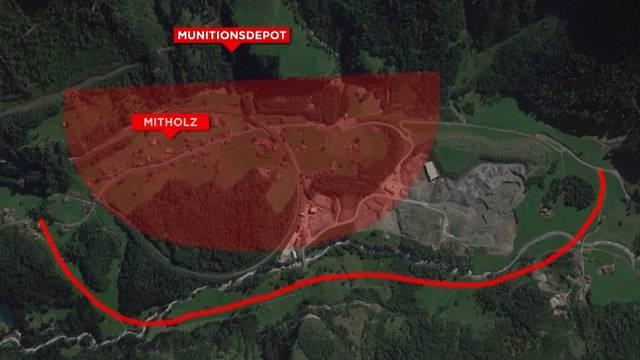 Munitionslager Mitholz: Das sind die Pläne für den Ernstfall