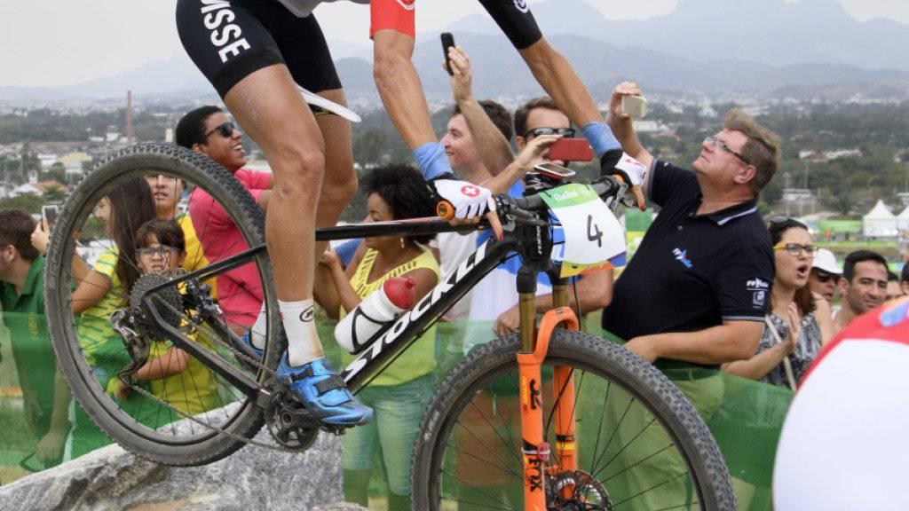 Jolanda Neff war auch in Rio angeschlagen