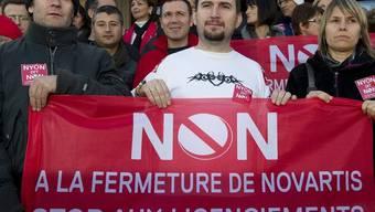 Die Gewerkschaften suchen Lösungen für den Standort in Nyon (Archiv)