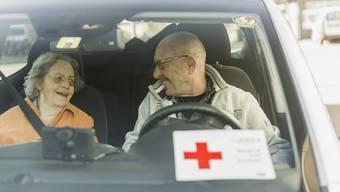 Fahrdienst des Schweizerischen Roten Kreuzes SRK. Symbolbild