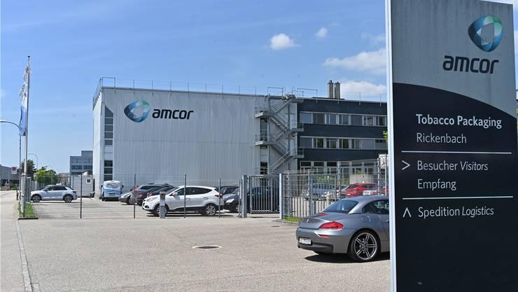 Die ungewisse Zukunft von Amcor schlug sich auch auf die Rickenbacher Rechnung nieder