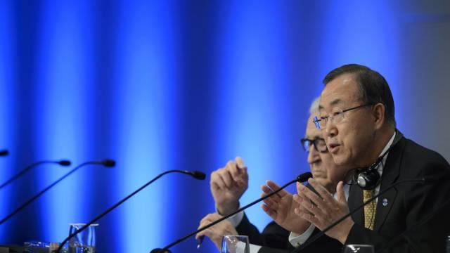 Ban Ki Moon appelliert an die Konfliktparteien in Syrien (Archiv)