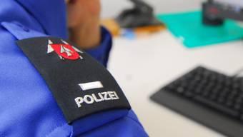 Ein Emblem der Polizei Stadt Grenchen.