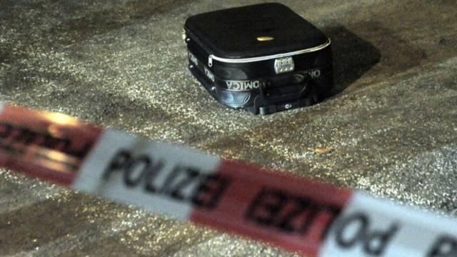 In diesem Koffer wurde das ausgesetzte Baby gefunden