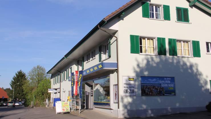 Die Volg-Filiale in Lupfig. (Archiv)