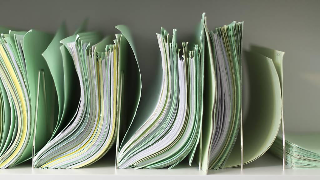 Der Bundesrat will unnötige Bürokratie für Firmen reduzieren und setzt dabei auch auf die Digitalisierung. (Archivbild)