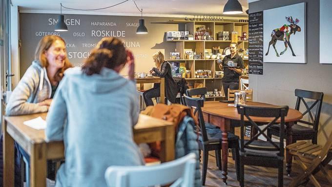 Das Scandinavian Deli ist nicht nur als Feinkostladen, sondern auch als Café in der Unteren Halde beliebt.