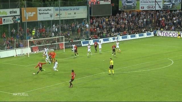 FC Aarau immer noch im Tief
