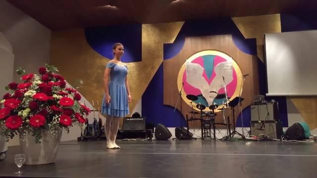 Tänzerin Viviana Cali am Grenchner Kulturpreis 2017