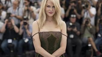 """Nicole Kidman hat am Montag in Cannes ihren neuen Film """"The Killing of a Sacred Deer"""" vorgestellt. Dabei hat sie verraten, dass ihre Kinder ihre Filme nicht sehen dürfen."""