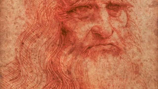 Selbstportrait Leonardo da Vinci