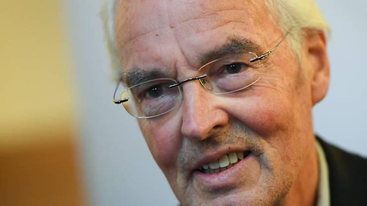 Bodo Kirchhoff am Montag an der Buchpreis-Verleihung in Frankfurt.