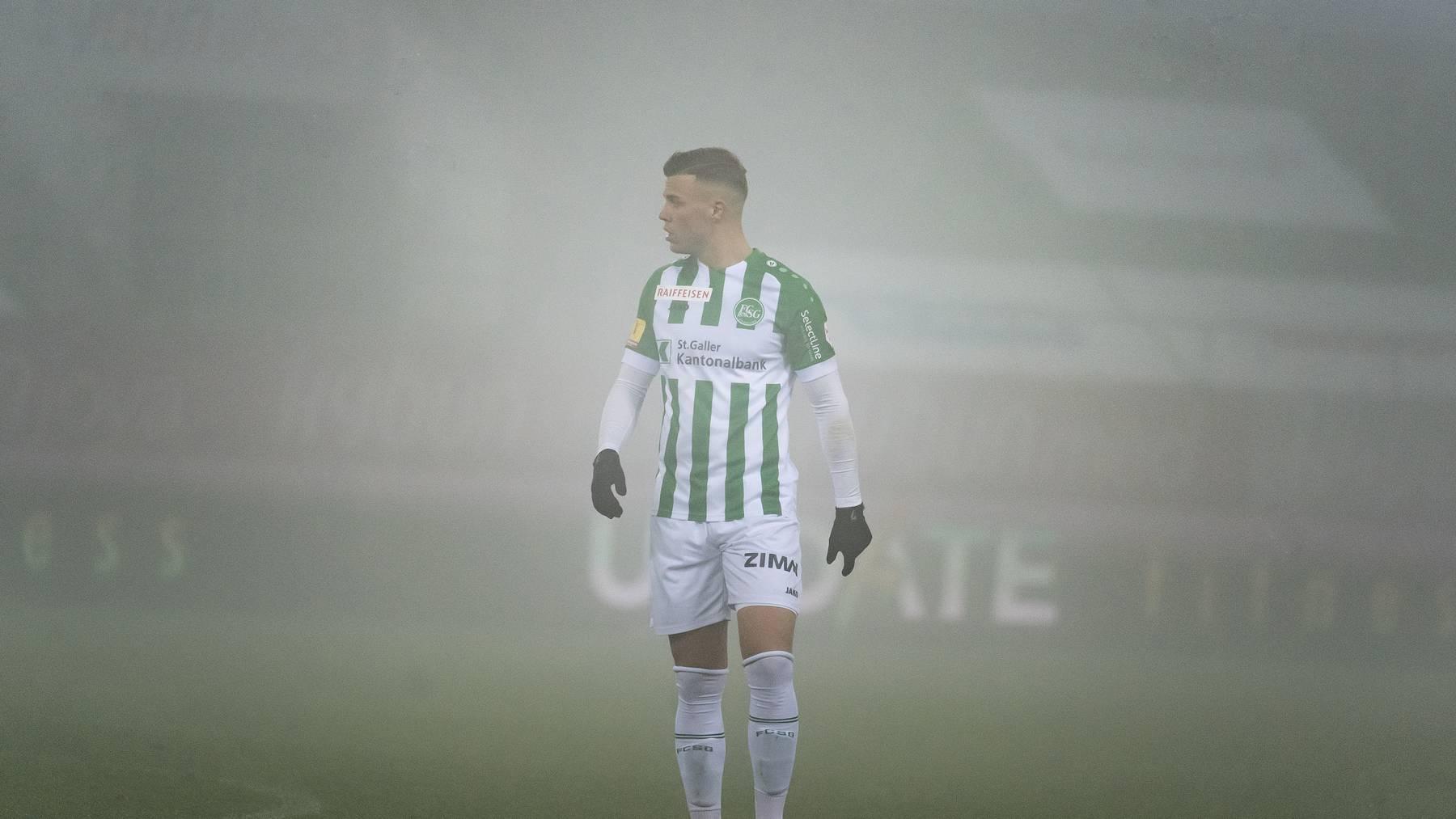 Florian Kamberi stand beim FC St.Gallen auf verlorenem Posten.