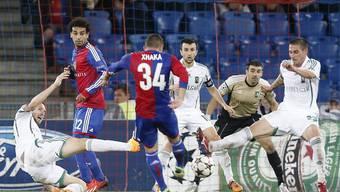 Der FC Basel schafft souverän den Einzug in die Champions League Gruppenphase