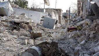 Verwüstung nach Bombe im syrischen Kobane (Symbolbild)
