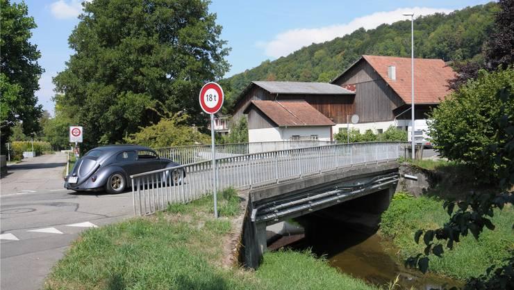 Diese Bünzbrücke in Anglikon wird durch einen Neubau ersetzt. Archiv Toni Widmer