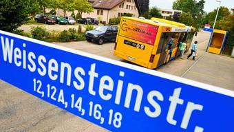 Soll bestehen bleiben: Die Gruppe Quartierläbe setzt sich dafür ein, dass die Haltestelle Weissensteinstrasse nicht aufgehoben wird. (Urs Lindt)