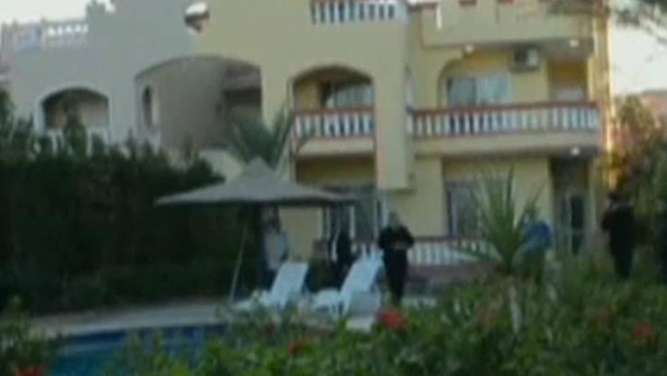 In dieser Ferienvilla im ägyptischen Badeort Hurghada soll das Schweizer Ehepaar ermordet worden sein.