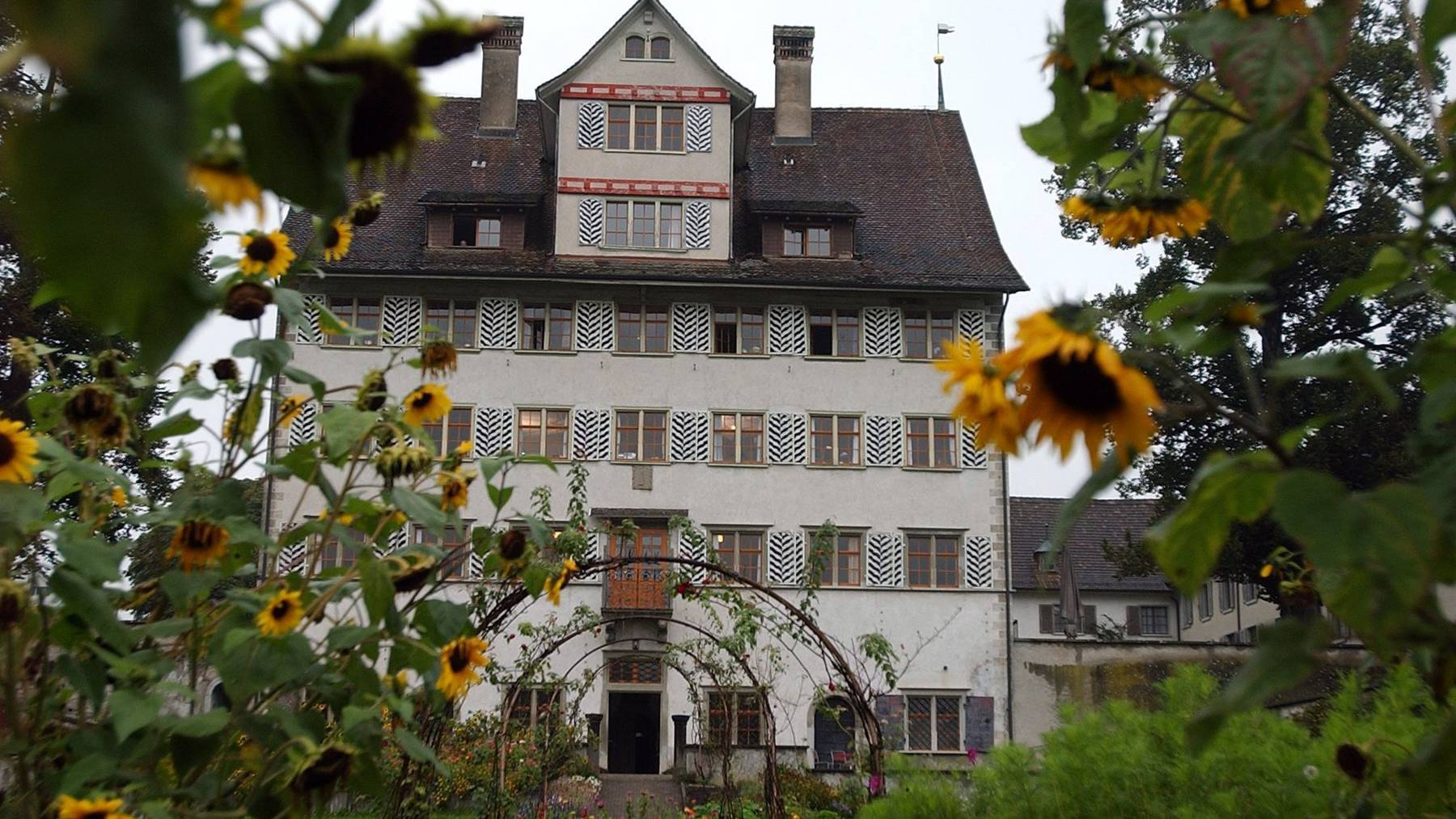 Das Schloss Hauptwil schliesst im Juni 2017 seine Tore.