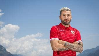 Vor der Super-League-Premiere: Valon Behrami, FC Sion.