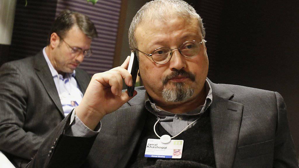 Reporter ohne Grenzen fordert, dass Saudi-Arabien nach dem grausamen Mord am Journalisten Jamal Khashoggi (im Bild) und angesichts der anstehenden G20-Präsidentschaft ein glaubhaftes Zeichen für die Pressefreiheit setzt und 30 willkürlich inhaftierten Medienschaffende freilässt. (Archivbild)