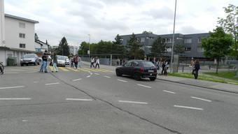 Der Sorenbühlweg beim Schulzentrum Bünzmatt. (Archiv)