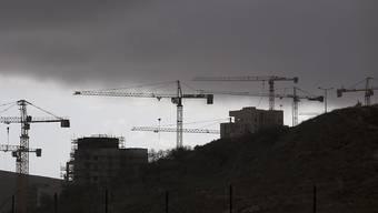Dieses Bauvorhaben in Ost-Jerusalem ist fürs erste ausgesetzt worden