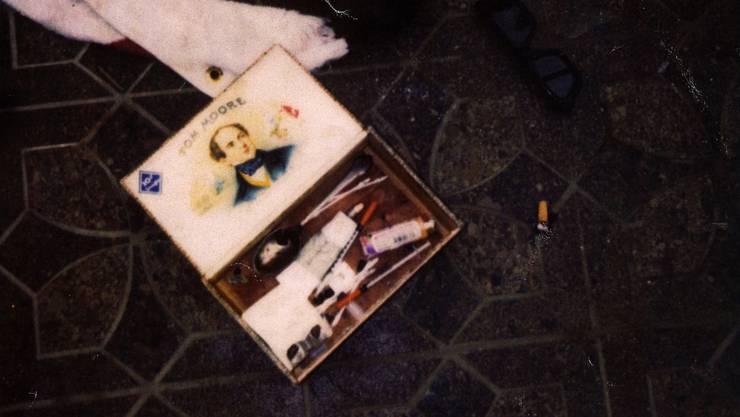 Kurt Cobains Drogen-Utensilien