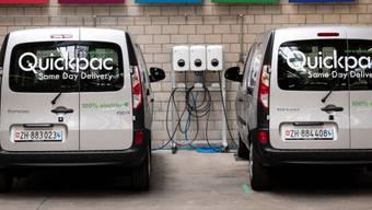 Künftig wird man die elektrischen Lieferfahrzeuge von Quickpac auch auf Dietiker Strassen antreffen können.