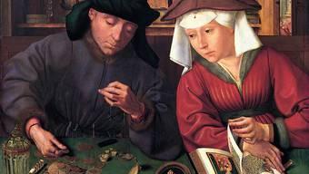 «Der Geldwechsler und seine Frau» des flämischen Malers Quentin Massys aus dem Jahr 1514.