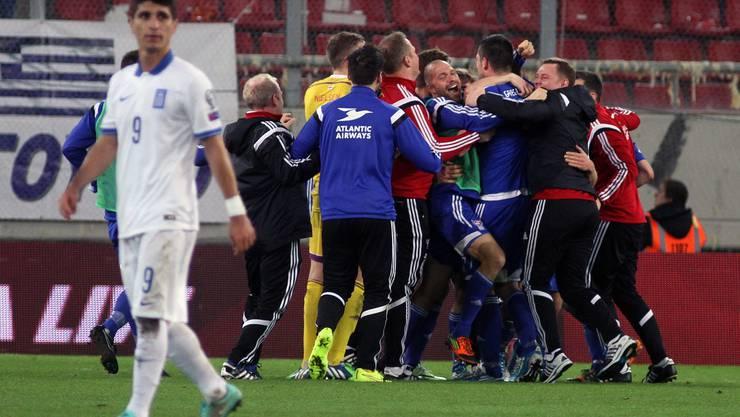 Sensation! Färöer schlägt Griechenland auswärts 1:0
