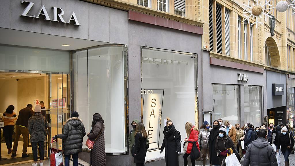 Zara-Mutter Inditex kehrt in Gewinnzone zurück