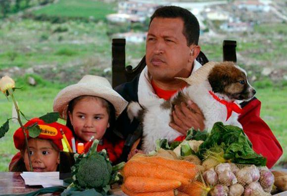 Hugo Chávez, 2003.