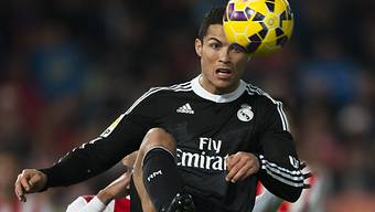 Cristiano Ronaldo traf auch gegen Almeria zweimal in die Maschen
