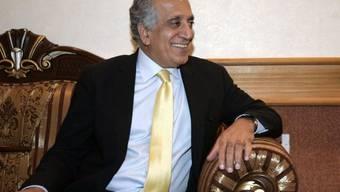 US-Chefunterhändler Zalmay Khalilzad ist für die Gespräche nach Doha geflogen. (Archivbild)