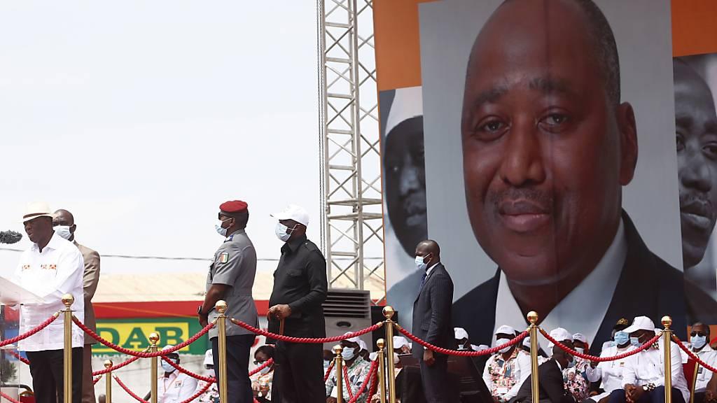 Präsident von Cote d'Ivoire will für dritte Amtszeit kandidieren