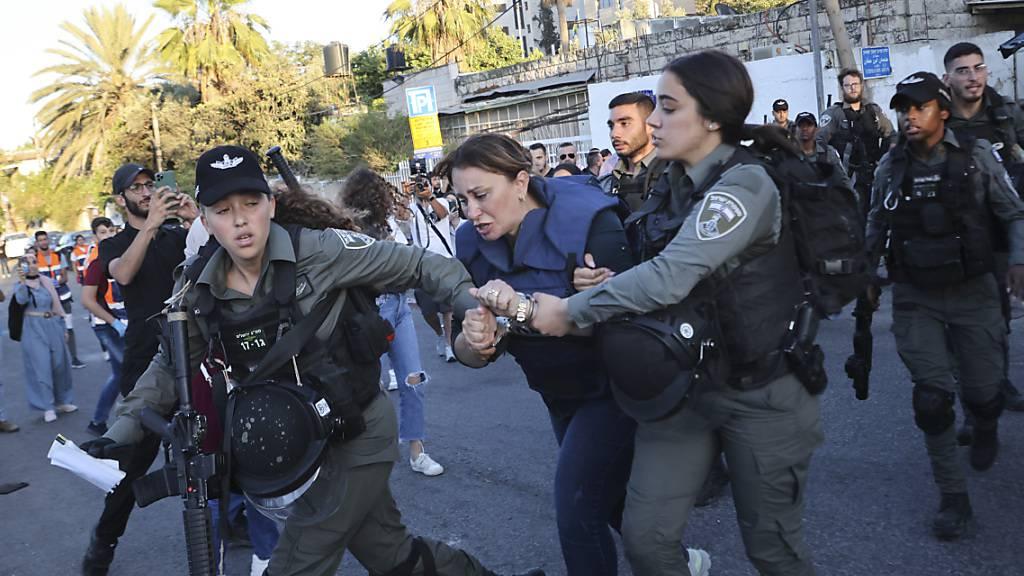 Gewalt gegen Journalistin in Ost-Jerusalem