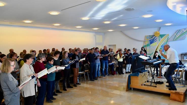 Intensives Singwochenende unter der Leitung von Markus Oberholzer.
