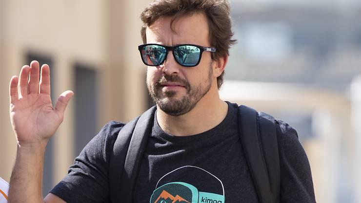 Verabschiedet sich am Sonntag mit seinem 312. GP-Rennen aus der Formel 1: Fernando Alonso