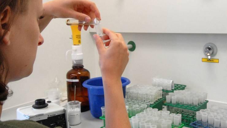 Eine Dopingkontrolle im Bild