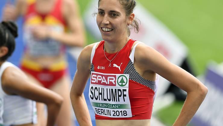 Fabienne Schlumpf hatte nach dem Vorlauf allen Grund zur Freude