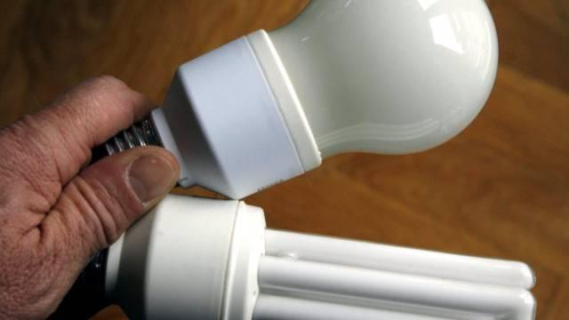 Energiesparlampen, ein Mittel hin zur 2000-Watt-Gesellschaft