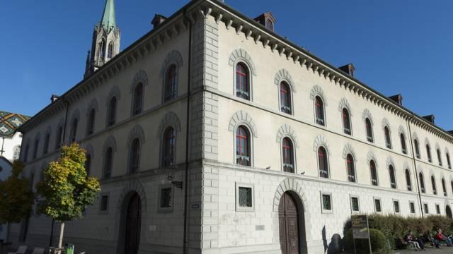 Das Gebäude des Kantonsgerichts St. Gallen