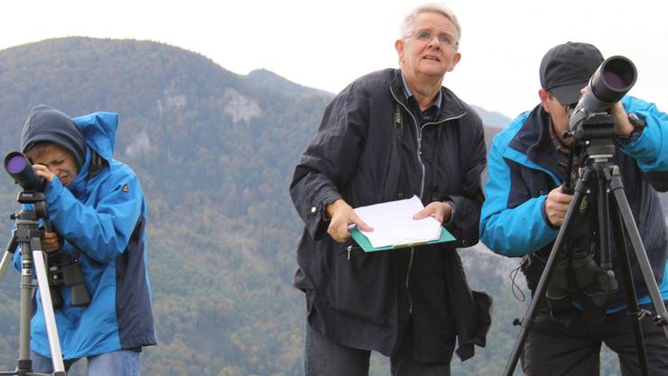 Cedric Senn, Therese Mathys und der Präsident, Markus Mooser.
