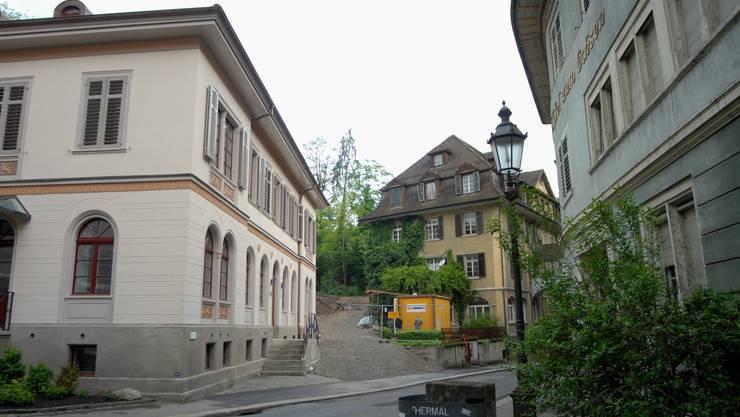 Das Badener Bäderquartier.
