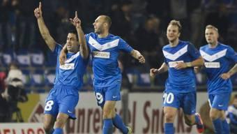 Joker Elyaniv Barda schoss Genk zum Sieg gegen Sporting.