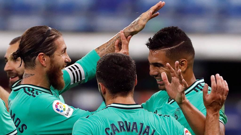 Real Madrid profitiert von Barças Ausrutscher